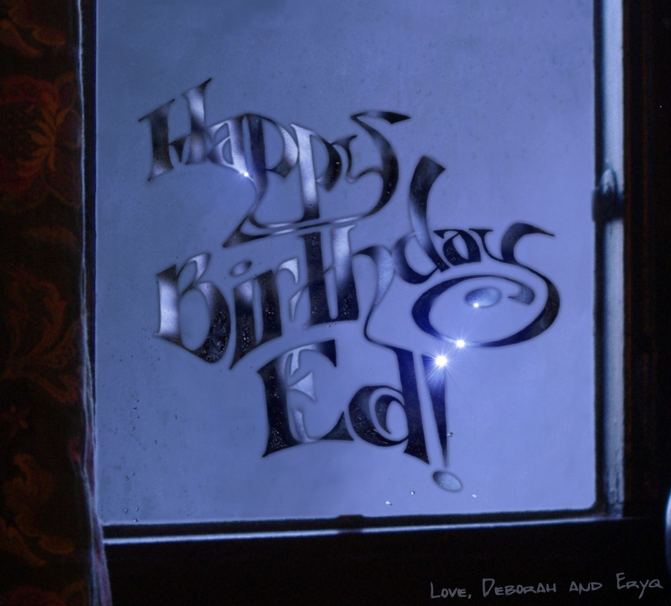 Eryq Happy Birthday Ed 2007
