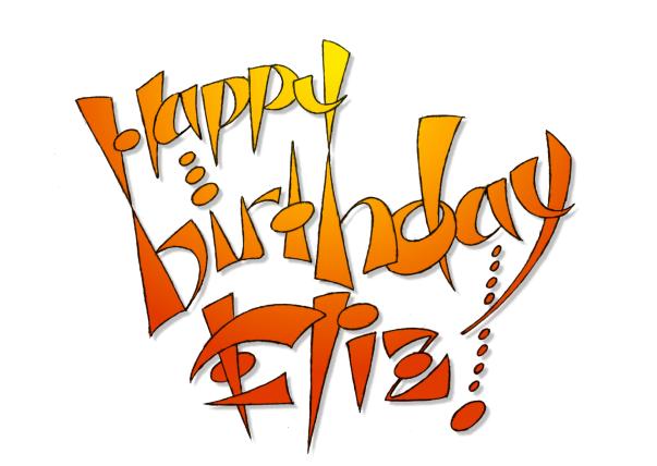 Eryq Happy Birthday Eliz 2005