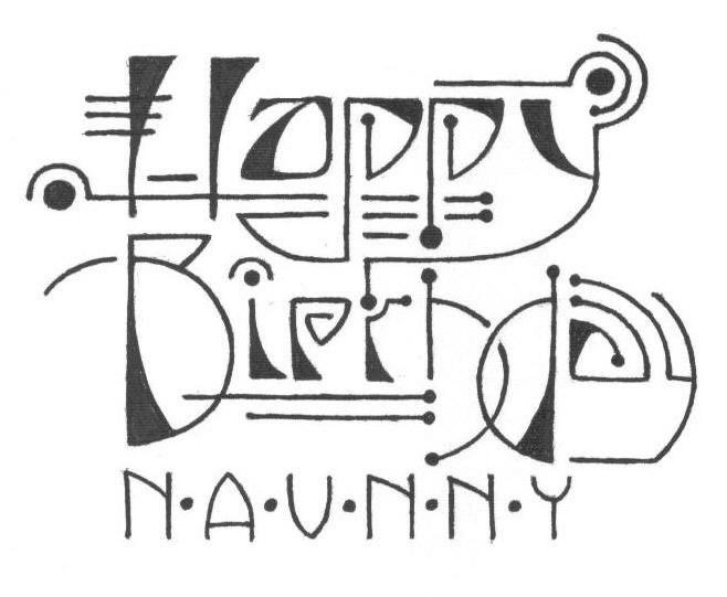 Eryq Happy Birthday Naunny 2001